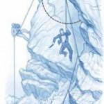 Afin de s'assurer contre une chute avec un amortissement supportable, les alpinistes utilisent des cordes qui, par élasticité, s'allon- gent d'environ 40 pour cent en cas de chute d'une hauteur égale au double de la longueur de corde. Pour une descente en rappel, en revanche, une telle élasticité est indésirable.